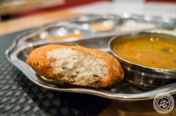 Medu Vadai at Dosai, Indian restaurant in NYC, New York