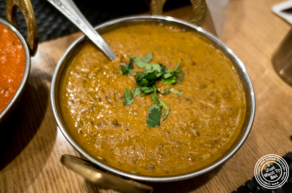 Dal Makhni at Dosai, Indian restaurant in NYC, New York