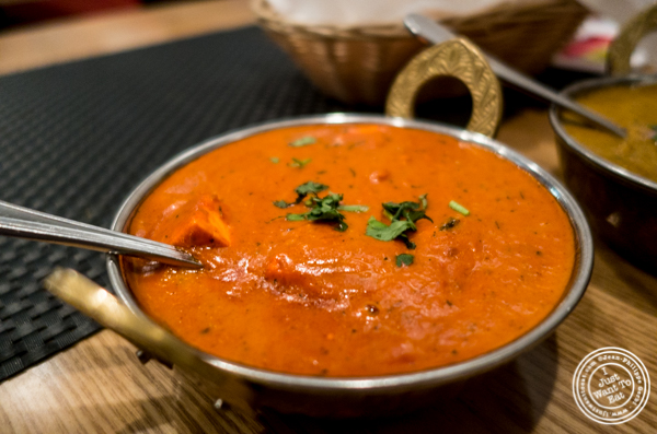 Paneer Makhni at Dosai, Indian restaurant in NYC, New York