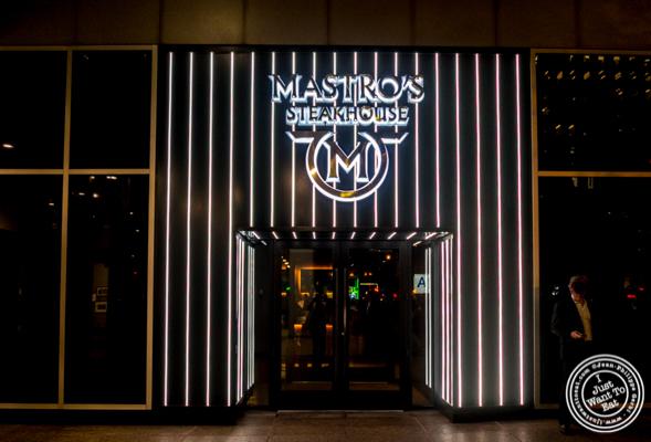 Mastro's Steakhouse in NYC, New York