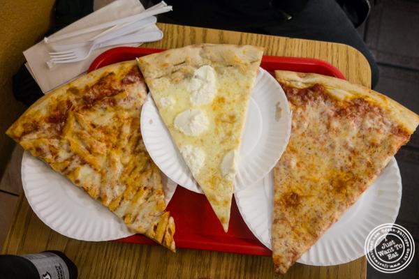 Slices at H & S Giovanni's in Hoboken, NJ