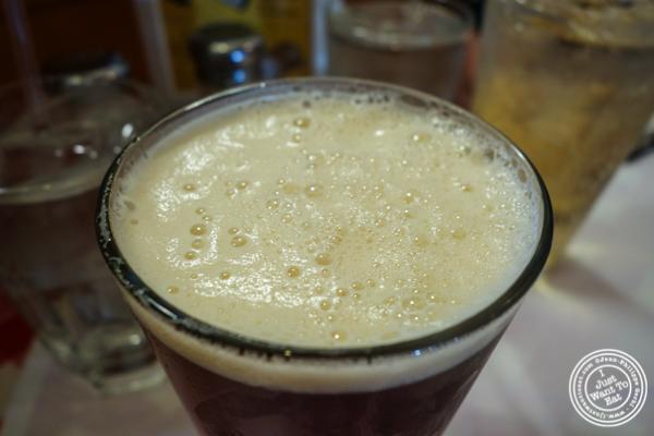 Grimaldi's IPA beer at Grimaldi's Pizza in Hoboken, NJ