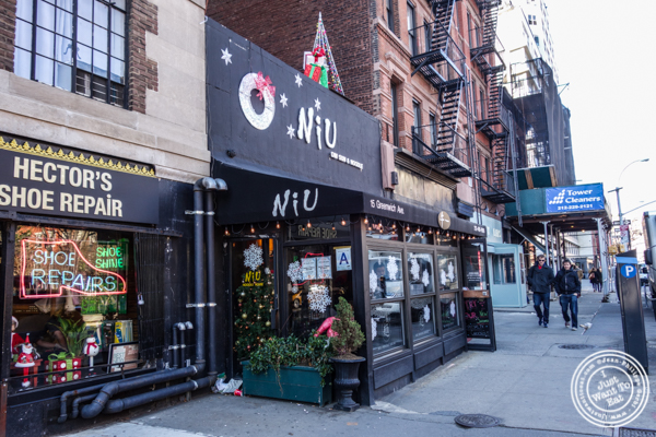 NIU Noodle House in the West Village