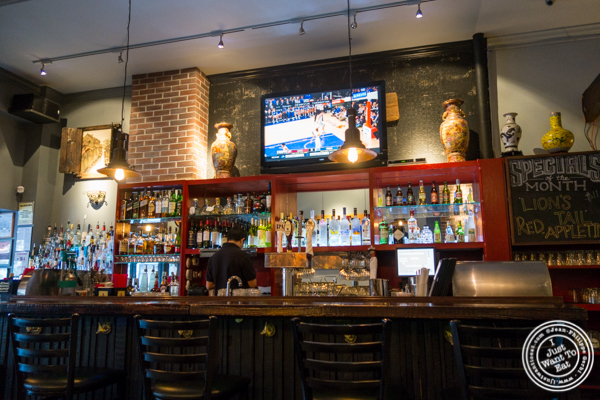 Bar at NIU Noodle House in the West Village