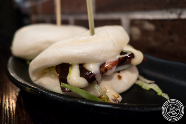 Cha Siu Pork Buns at NIU Noodle House in the West Village