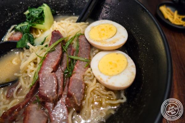 Cha Siu Pork ramen at NIU Noodle House in the West Village