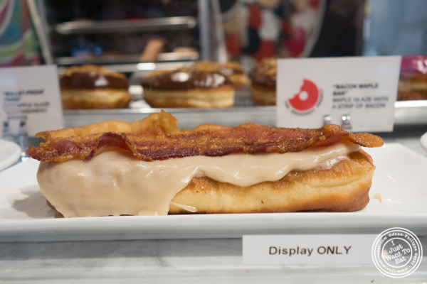Bacon Maple Bar at The Doughnut Project in NYC, New York