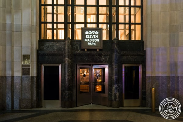 Eleven Madison Park in NYC, New York