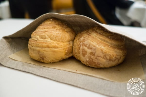 Bread at Eleven Madison Park in NYC, New York