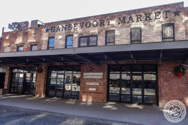 The Gansevoort Market in the Meat Packing District