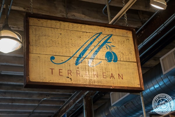 M Terranean at The Gansevoort Market in the Meat Packing District