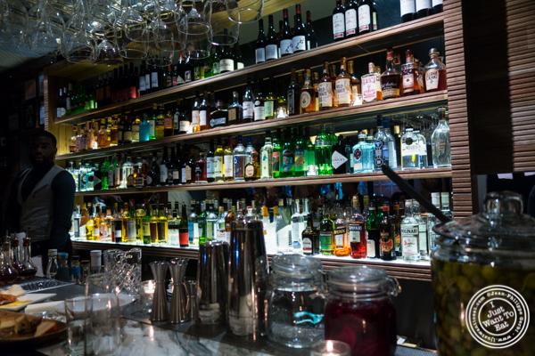 Bar at Combina in TriBeCa, NYC, New York