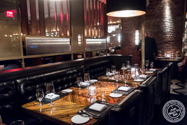 Dining room at American Cut in TriBeCa, NYC, New York