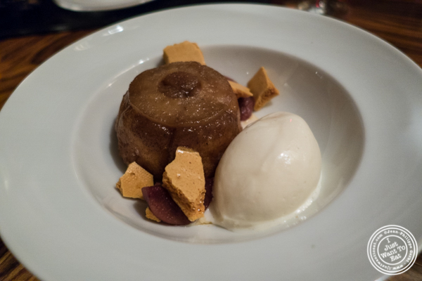 Monkey bread tatin at American Cut in TriBeCa, NYC, New York