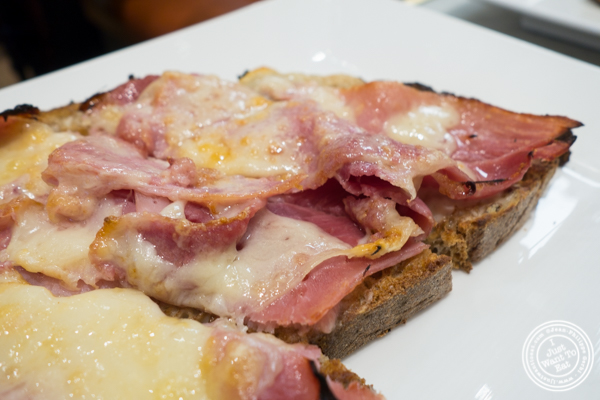 Croque Monsieur at Maison Kayser in the West Village, NYC, New York