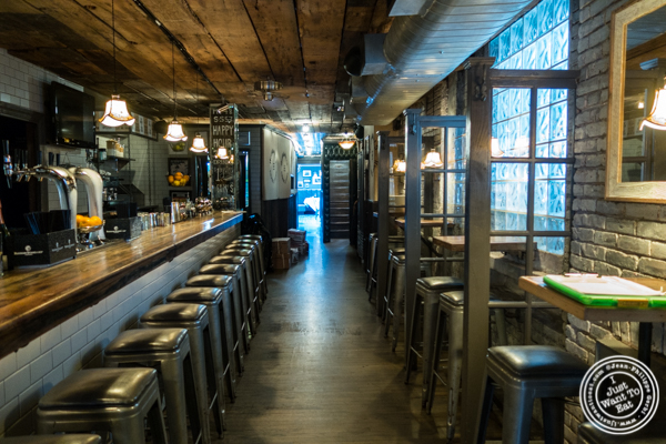 Bar at Burke and Wills, Upper West Side, NYC, New York