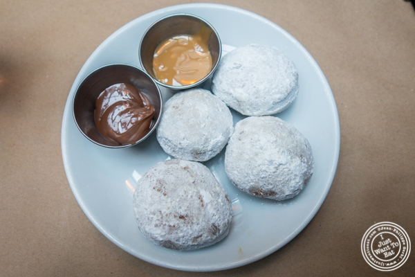 Homemade donuts at Burke and Wills, Upper West Side, NYC, New York