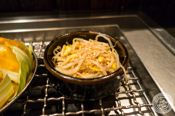Bean sprouts at Takashi in NYC, New York