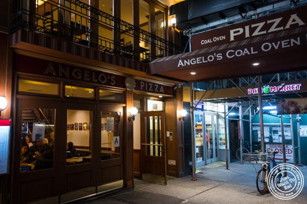 Angelo's Pizza in NYC, NY