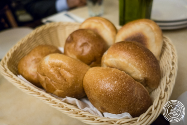 Bread at Angelo's Pizza in NYC, NY