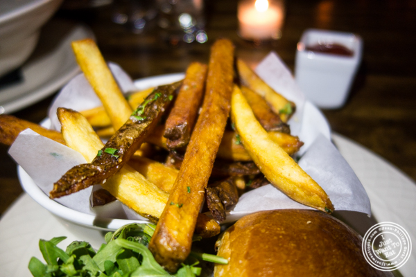 French fries at Church Street Tavern in TriBeCa