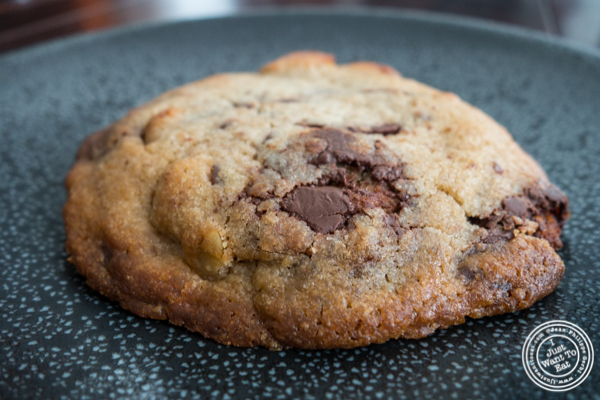Nutty chocolate chip cookie at Maman in TriBeCa