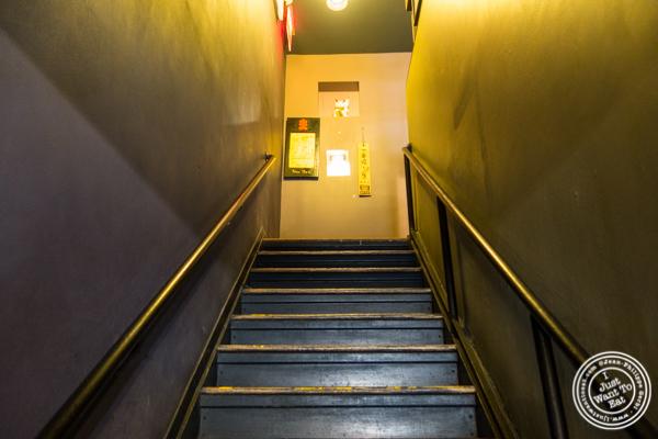 Stairs at Katsu Hama in NYC, New York