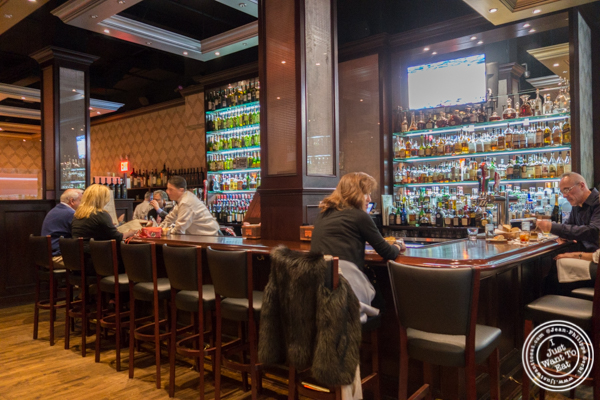 Bar area at Rocco Steakhouse in NoMad, NYC