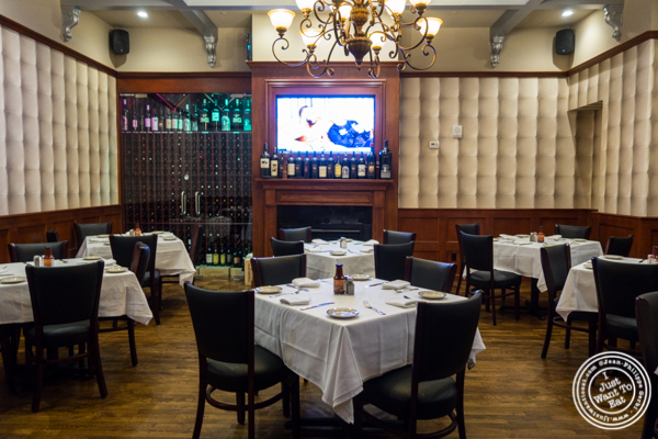 Dining room at Rocco Steakhouse in NoMad, NYC