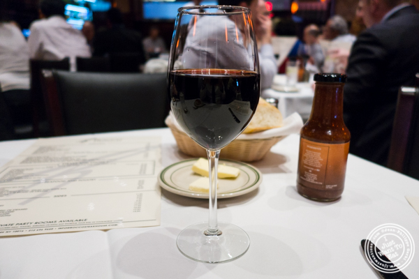 Memoir wine 2014 at Rocco Steakhouse in NoMad, NYC