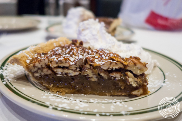 Pecan pie at Rocco Steakhouse in NoMad, NYC