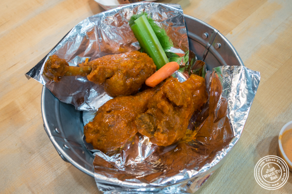 Chicken drumsticks at IWF - International Wings Factory on the Upper East Side