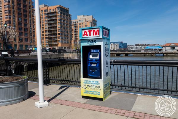 ATM for Food Trucks at Pier 13 in Hoboken