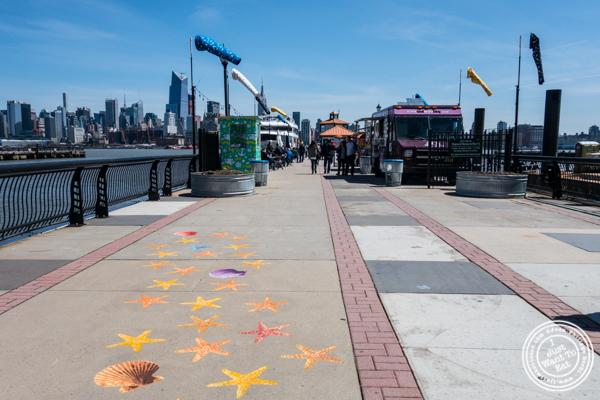Food Trucks at Pier 13 in Hoboken