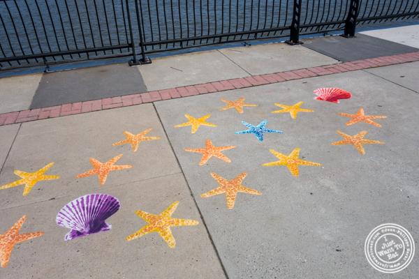 Fnnch's art work at Pier 13 in Hoboken, NJ