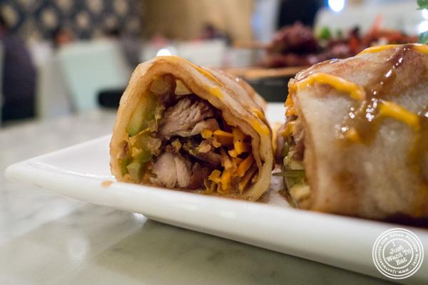 Duck crepe at Bangkok Cuisine Upper East Side, NYC