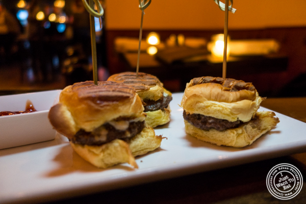 Angus sliders at The Gilroy on the Upper East Side, NYC, New York