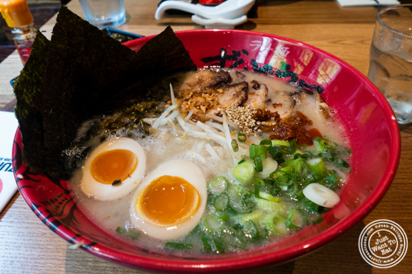 Zonbunose ramen at Ramen Zundo-Ya in NYC, New York