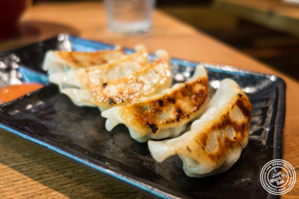 Yasai gyoza at Ramen Zundo-Ya in NYC, New York
