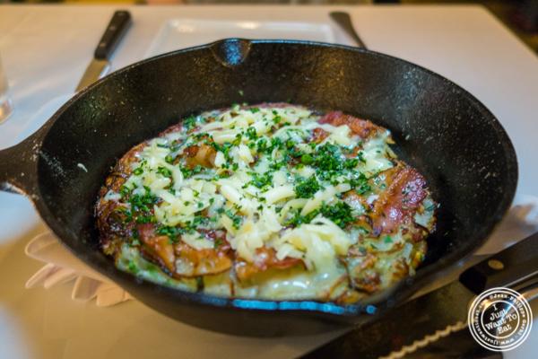 Potato pancake at Prime and Beyond, Korean steakhouse in New York