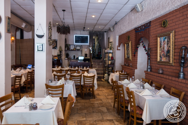 Dining room at Pars Grill House and Bar in NYC, New York