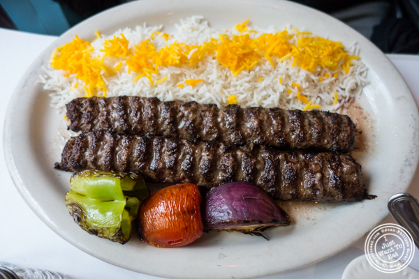 Kubideh at Pars Grill House and Bar in NYC, New York