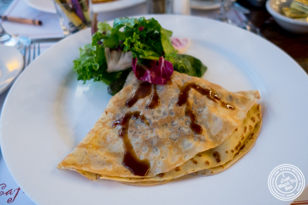 Crepe Pyrenees at Cafe 123 in Times Square, NYC