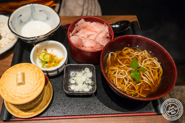 Tororo soba at Ootoya Times Square, NYC, New York