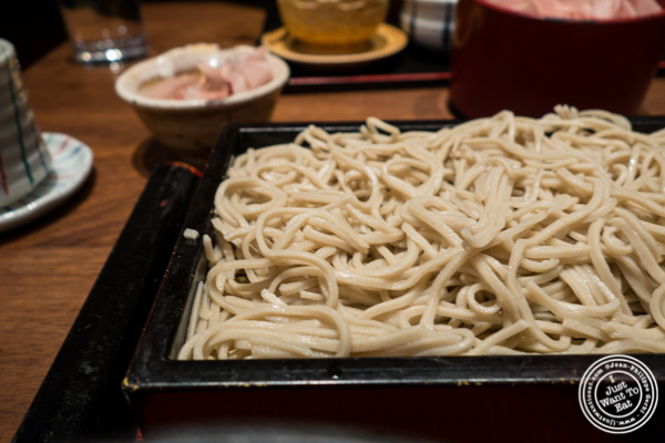 Soba noodles at Ootoya Times Square, NYC, New York