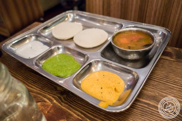 Savitri Amma's idli at Kokum in Curry Hill, NYC