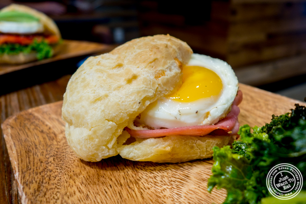 PDQ ham and egg at Padoca on the Upper East Side, NYC
