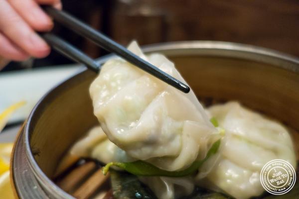 Edamame dumpling at Natsumi Tapas in NYC, NY