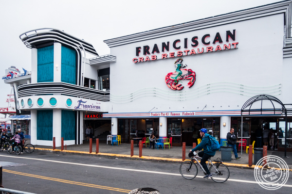 The Franciscan Crab Restaurant in San Francisco, California