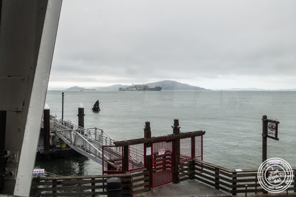 View from The Franciscan Crab Restaurant in San Francisco, California